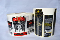 Top quality new arrival high quality custom beer can labels
