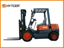 German quality, easy affordable 2000kg 2ton diesel forklift drum clamp