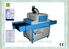 China made Plane UV curing machine/ High quality UV curing machine uv dryer for printing ink/ bottle uv curing machine TM-700UVF