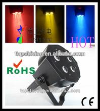 5*high MCD LEDs 3 in 1 RGB 3W LEDs / MEGA TRI PAR light /led stage lights