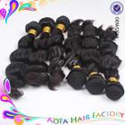 Wholesale High Quality Human 5A Virgin Brazilian and Peruvian Hair Bulk