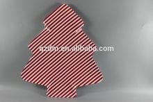 Christmas Tree Shaped Melamine Dessert Plates