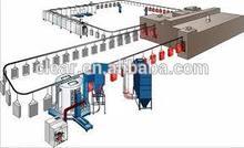 Powder coating equipment for Metal/Iron Sheet