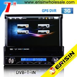 "Erisin ES7888G 7"" Universal 1 Din Car 3G/GPS/Radio/USB DVD Player"
