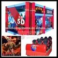 La animación 4d la película de cine, thriller 5d películas de movimiento, 6d películas de horror