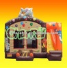 Colorful Balloon bouncy slide Inflatable combo