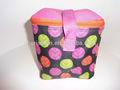 Saco do almoço cooler geladeira caixa pacote totalmente isolado- almoço saco- cores múltiplas e almoço isolados refrigerador saco do bloco
