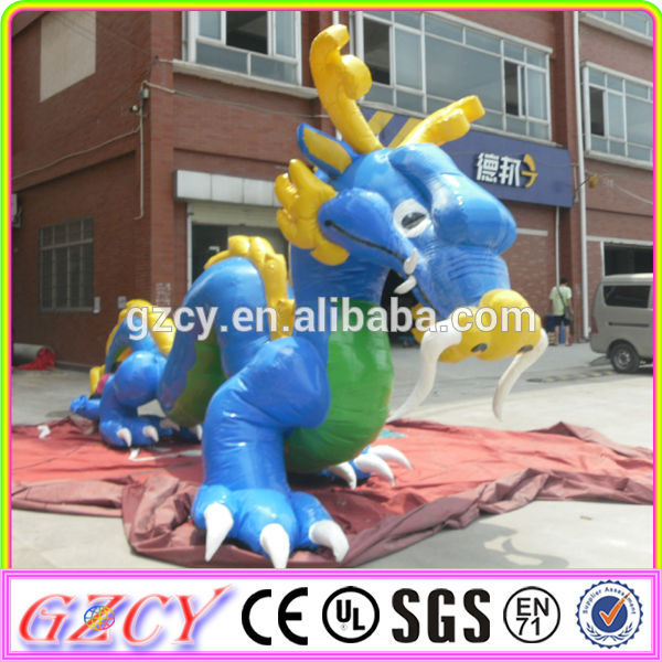 Strong Attractive Advertising Inflatable Giant Dragon