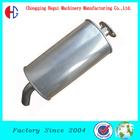 high quality super weld 409 stainless steel auto exhaust universal muffler
