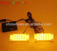 12V Police Vehicle LED Visor Strobe Flash Emergency Warning lights cheap strobe lights