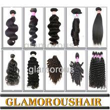 No Shedding Wholesale Brazilian Unprocessed Hair Weft Crochet Hair Ext