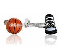top design basketball and basketball shoe cuff links