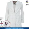 Ladies' bata de laboratorio, diseño de moda uniformes de doctor, caliente venta de uniformes de hospital, k421