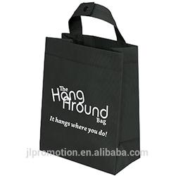 100 GSM Polypropylene Hang Around Bag with fused seams and a snap-closure handle golf carts bag
