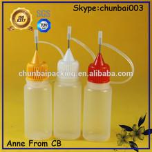 15ml ldpe eliquid plastic needle bottle, smoking oil bottle