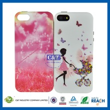 Attractive cell mobile phone case full diamonds cases for iphone 5