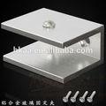 Suporte de vidro, suporte para prateleira de vidro, painel de vidro suportes de montagem