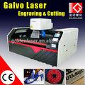 Galvanometer leder laserbeschriftungsanlage/Stoff gravur