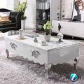 mobiliário barroco elegante e da moda jogo da mobília sala mesa de café