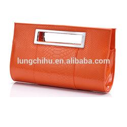 New Arrival PU Shiny Patent Small Designer Handle Clutch Shoulder bag (LCHAML49)