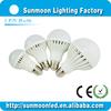 3w 5w 7w 9w 12w e27 b22 smd low price led cabinet light bulb