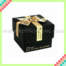 Cheap custom various size gift box jewelry