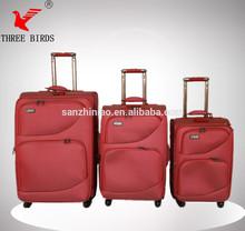 travel trolley luggage-Three Birds brand fashion men and lady scooter luggage box, fake designer luggage, luggage case