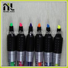 Best colorful overstriking nite writer permanent marker highlighter multi color advertising whiteboard maker pen