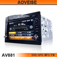 Car GPS navigation with DVD TF card bluetooth AV881[AOVEISE]