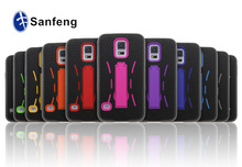 Factory Price 3 in 1 Case For Samsung Galaxy S5 Stand Hybrid Hard Case