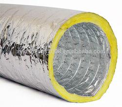 High Quality Fiberglass Acoustic Flexible Duct