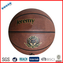 Official size pu material high quality basketball ball design for promotion