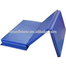 High Quality Folding Gymnastic Mat Gym Exercise Yoga Mat Pad Blue