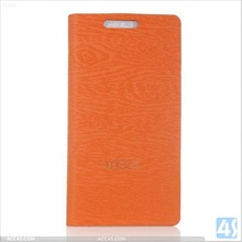 Wood Grain PU Leather Phone Case for Huawei Ascend P7 P-HWEP7SPCA001