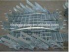 low carbon steel grid stair step