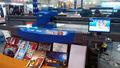 الزجاج الطابعة المسطحة uv، الطباعة مباشرة على الزجاج، السرعة العالية وارتفاع القرار