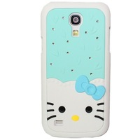 Hello Kitty with Rhinestone Hard Mobile Phone Back Case Cover for Samsung Galaxy S4 Mini i9190