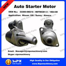 Best quality 12V 8T starter Motor for Nissan 100 / Sunny / Almera