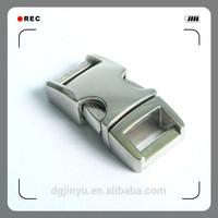 silver metal bag buckle/metal dog collar buckle/metal webbing buckle