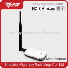 GWF-PA04C bulk price high end 2.4GHz high power 802.11b/g usb wireless adapter