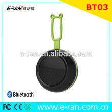 Portable design for travel, special round design, TF/FM/NFC pratical mini bluetooth speaker