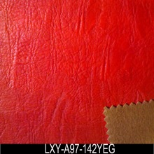 Old Fashion elasticity embossed PU leather for bags and shoes on sale