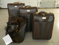 4pcs set leather PU carry-on luggage