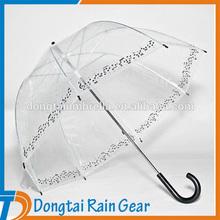 23 inch*8ribs Musical Event Transparent Umbrella
