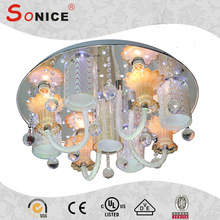 Cheap china manufacturer plastic crystal chandeliers