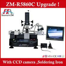 BGA component removal and replacement ZM-R5860C BGA Reballing kit, Repair laptop chip machine