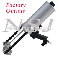 Airflow gun; spray gun for coating; dual air caulking gun