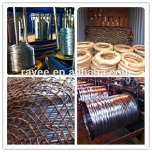 Bwg 5#- 28# zingage fil de fer galvanisé( electro/galvanisé plongé chaud)
