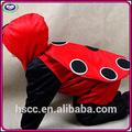 china fabricante de felpa corta los niños onesie cosplay traje de mariquita