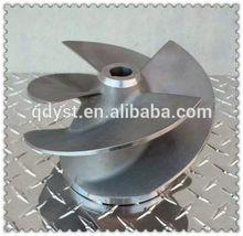 custom precision stainless steel impeller / blower impeller/ die casting parts